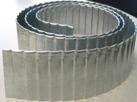 Sound Metals - Corrugated Lawn Edging                              …