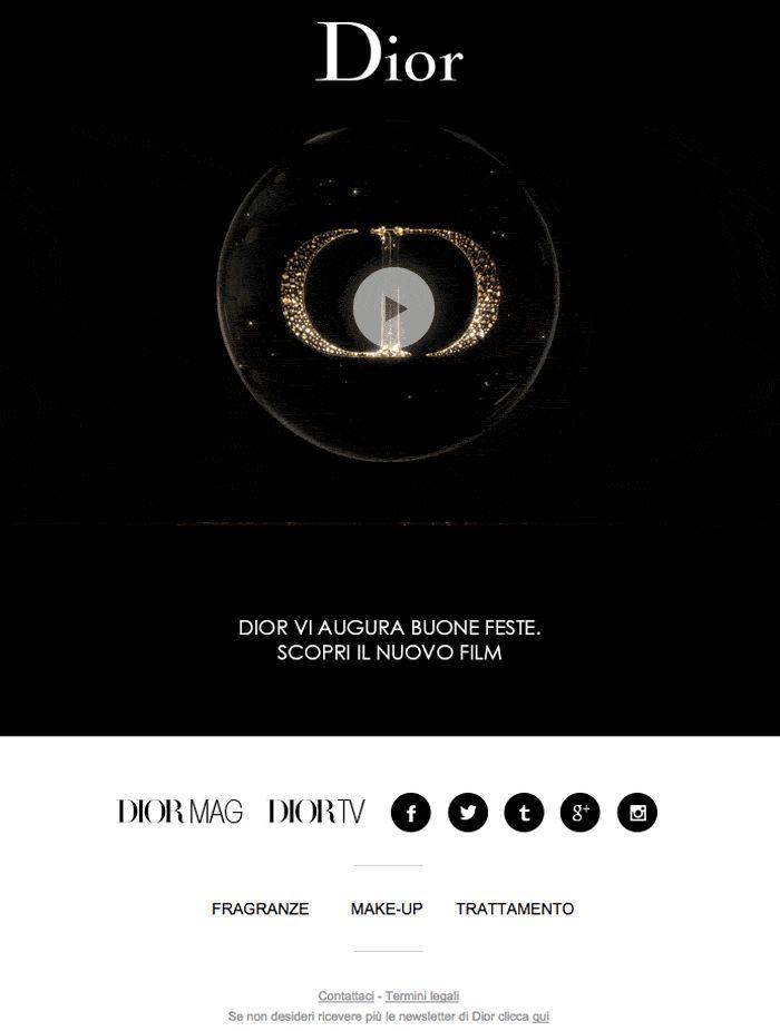 Dior illumina la città per le feste di fine anno. Scopri il nuovo film