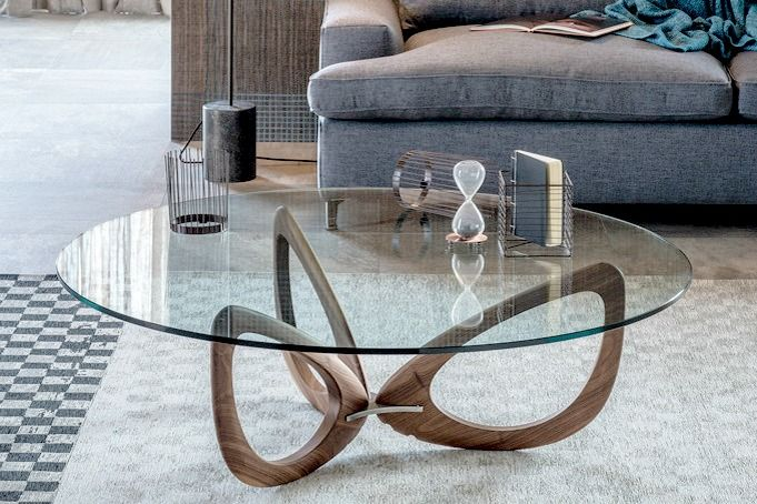 Helix coffee table by Cattelan