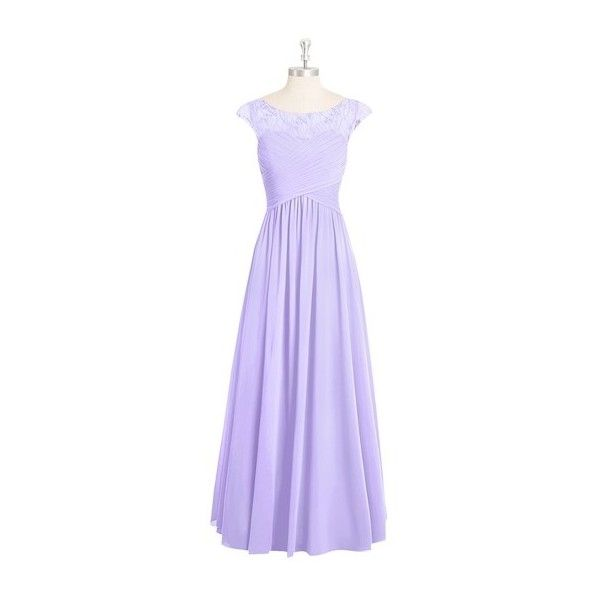 Azazie Tobey Bridesmaid Dress Azazie ($149) ❤ liked on Polyvore featuring dresses, brides dresses, purple bridesmaid dresses, night out dresses, purple chiffon dress and bride party dress