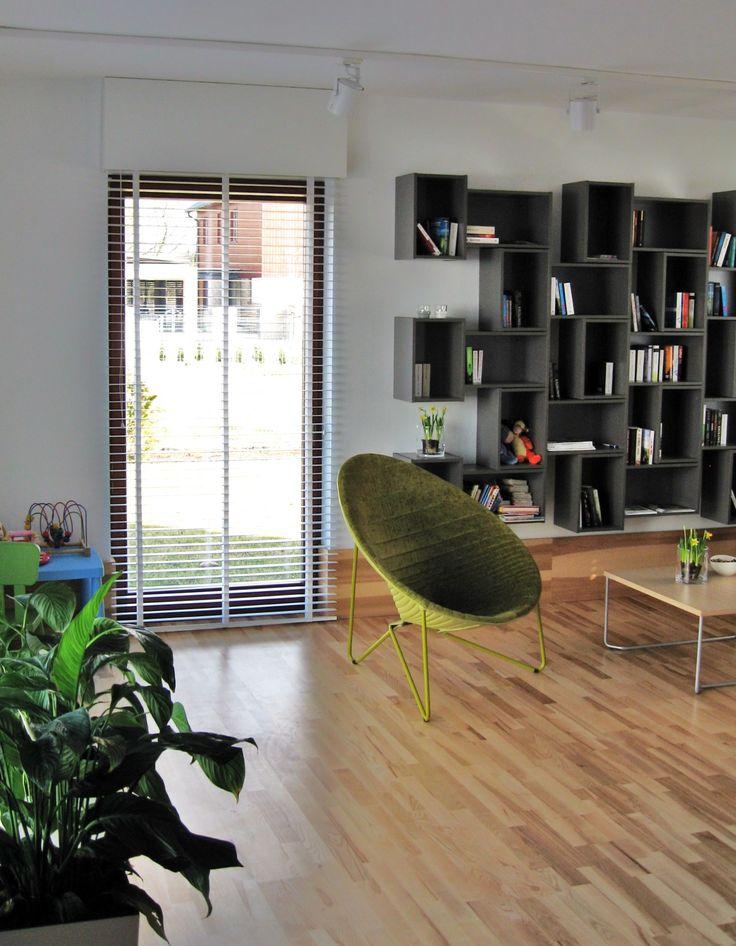 Co myślicie o elementach zieleni w salonie?