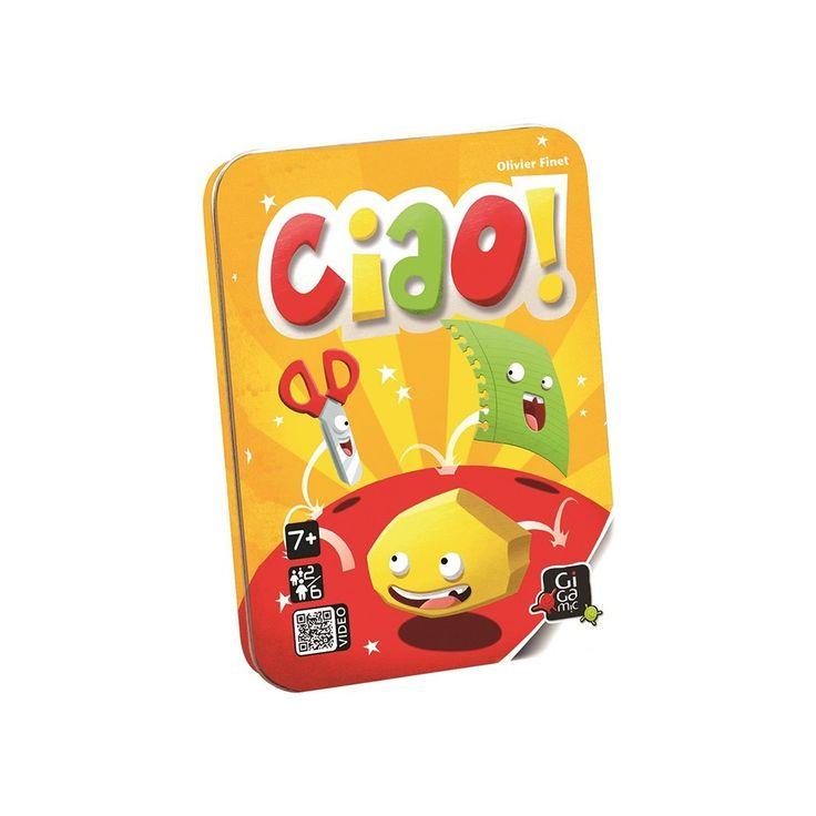 Ciao! kártyajáték 7 éves kortól - Gigamic