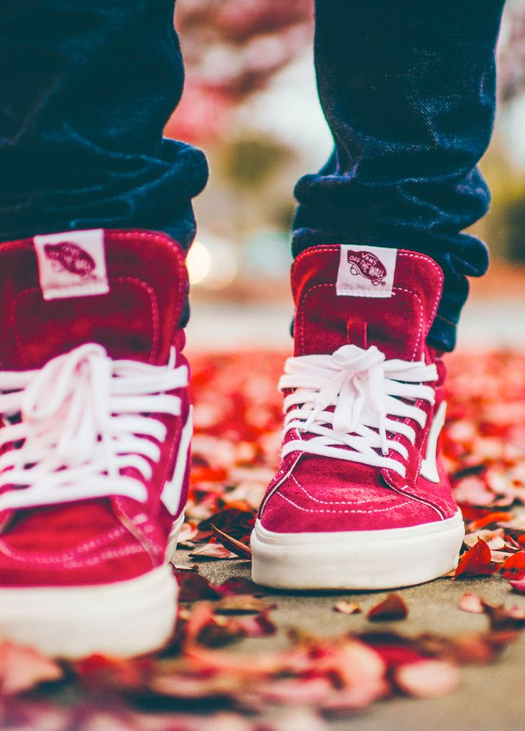 exceptional vans red shoes outfit girls
