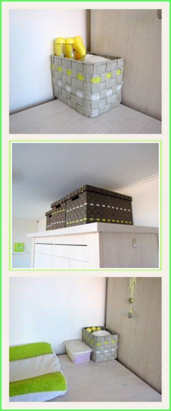 Manden versierd met lint - Creatief en Simpel - Ga naar onze site voor de uitleg