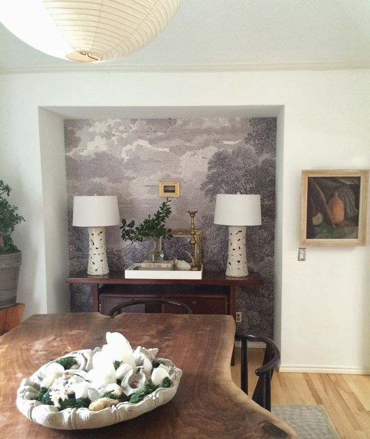 197 best images about new house wall ideas on pinterest for Etched arcadia mural wallpaper