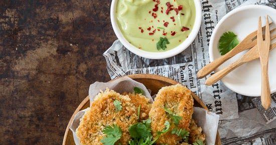 Kokit ja Potit -ruokablogi: Thaimaalaiset papukakut & avokado-kookosdippi
