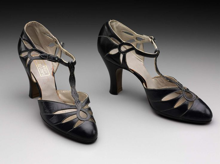 Early 1930s, America - Shoes - Leather