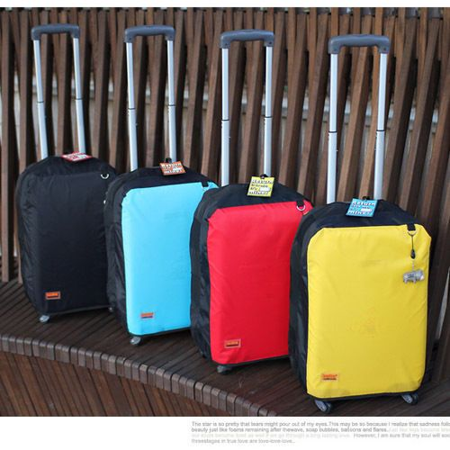 "Water-Resistant Anti-Scratch Travel Luggage Cover Suitcase Protector 27"" 28"" 29"" #LazydogKorea"