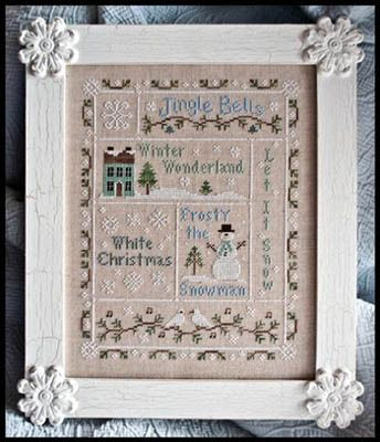 Country Cottage Needleworks Snowflake Serenade - Cross Stitch Pattern.
