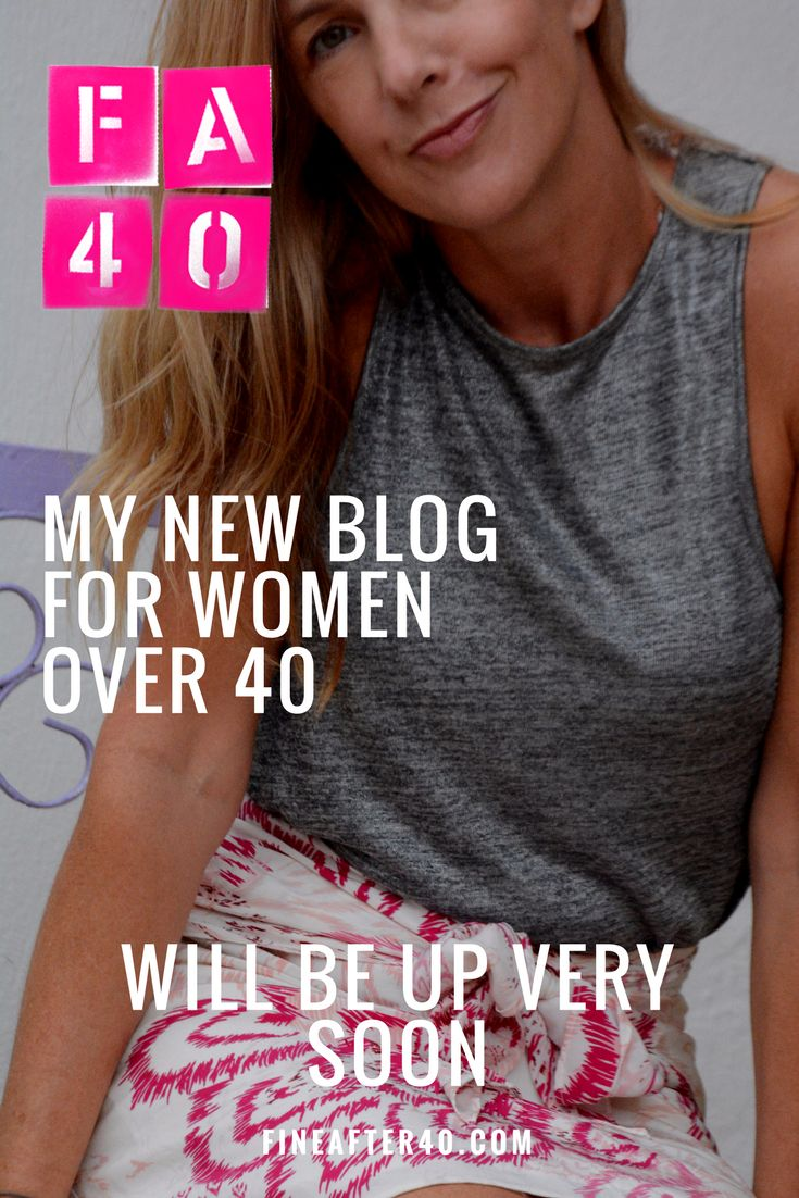 New blog for women over 40 coming soon!