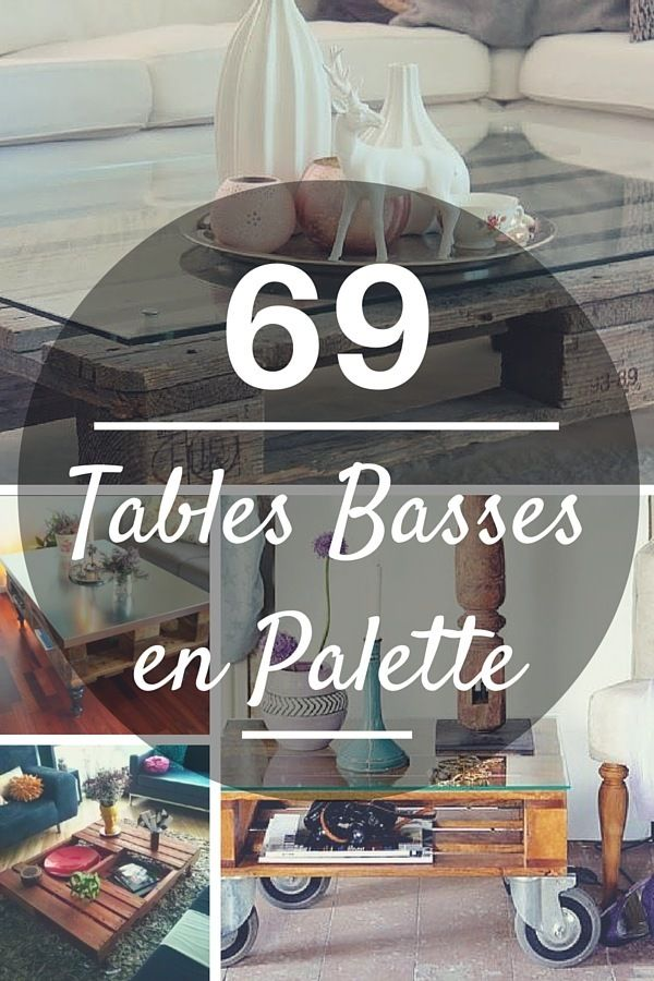 Table Basse Palette : TOP 69 des Idées les Plus Originales !  http://www.homelisty.com/table-basse-palette/