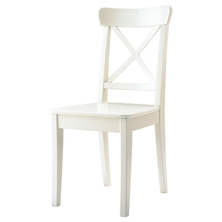 IKEA: INGOLF Chair, white, $60 each - these could be painted to match the Bentwood chairs if we needed filler chairs.