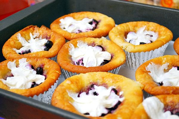 GF Blueberry Cheesecake by ItsJoelen, via FlickrCheesecake Bites, Desserts, Pork Recipe, Gf Blueberries, Blueberry Cheesecake, Cheesecake Cups, Blueberries Cheesecake, Cupcakes Rosa-Choqu, Cheesecake Cupcakes