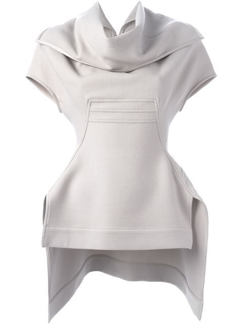 RICK OWENS Sculpted Top. #rickowens #cloth #top