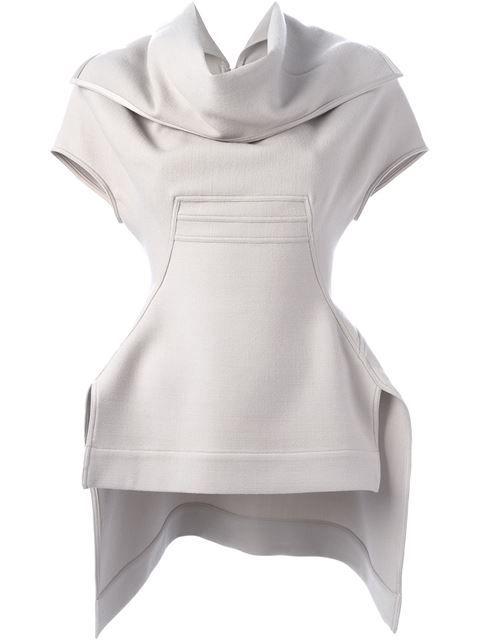 RICK OWENS Sculpted Top. #rickowens #cloth #top