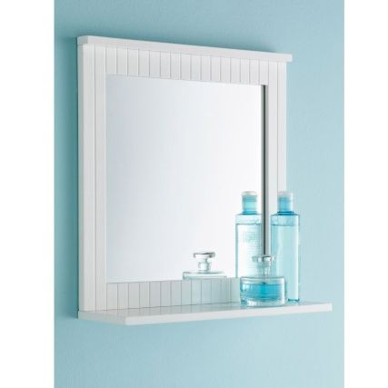 Create Photo Gallery For Website New England Style Clean Lines Single Maine Wall Mirror White With Shelf