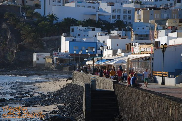 Knajpki rybne w Morro Jable