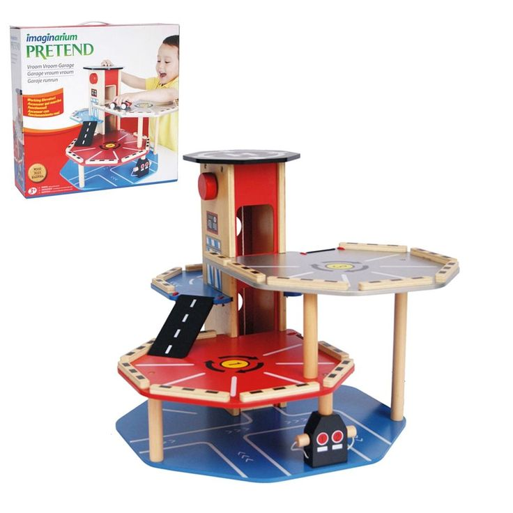 Wooden toys, Garage and Toys on Pinterest