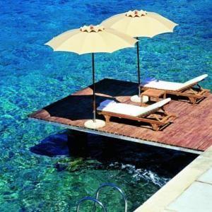 Amfora Hvar, perfect sunbathing...