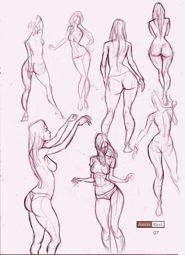 Today's Drawing Class 101: Female Anatomy | Female body