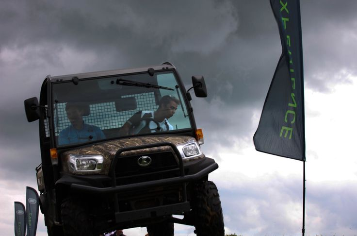 Kubota 4x4 Off Roader at the Land Rover Experience West Country.