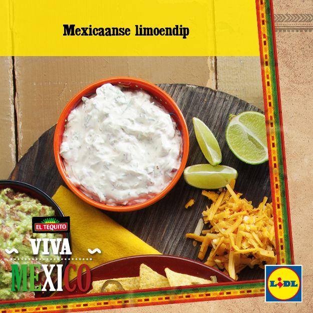 Recept voor Mexicaanse limoendip #Mexico #Lidl