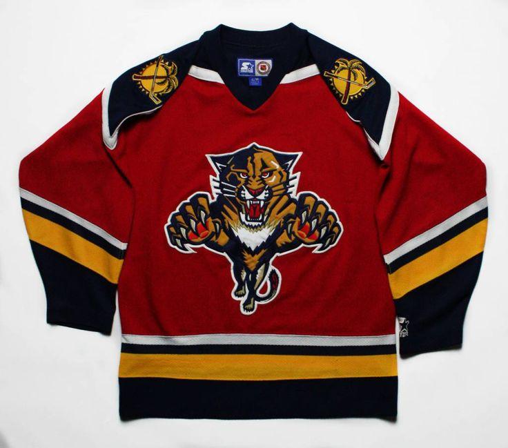 hot sale online e3ed7 08898 florida panthers vintage jersey