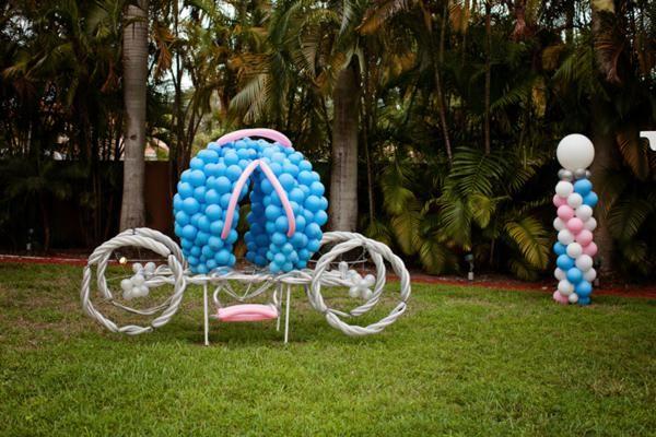 Cinderella Princess themed birthday party