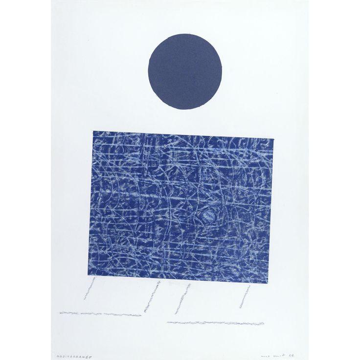 Artist: Max Ernst (1891-1976); Title: Méditerranée,1966; Medium: Mixed media