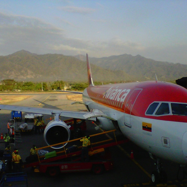 Avianca at Santa Marta, Colombia