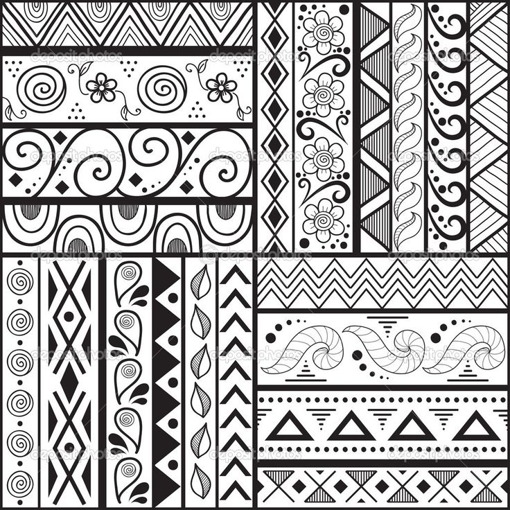 1000 Images About Simple Designs And Patterns On Pinterest in Cool Background Designs To Draw Easy