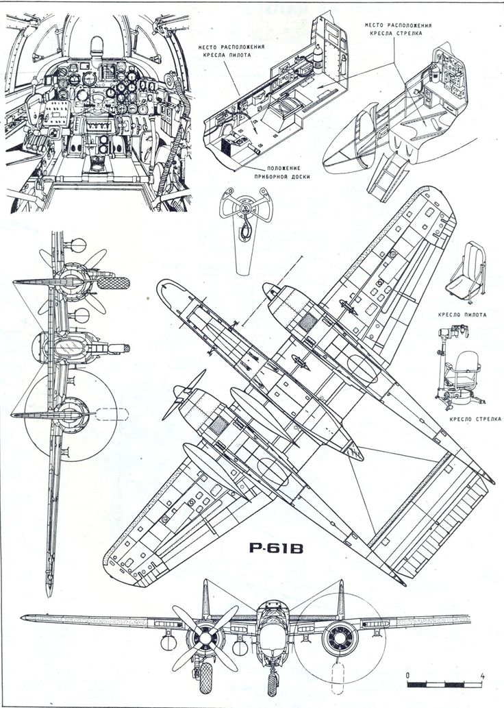 1049 best Aircraft 3-view Scale Drawings images on