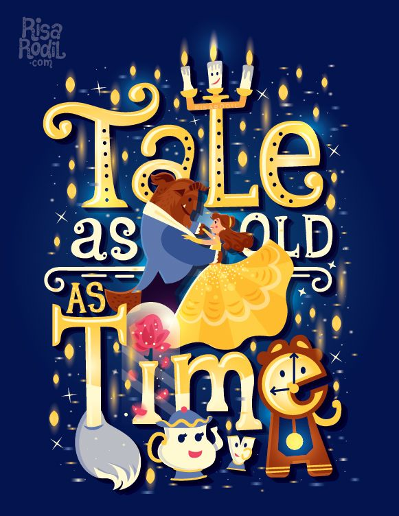 New Beauty and the Beast illustration in honor of the live-action release :) – My stuff elsewhere: Facebook | Instagram | Society6 | RedBubble | TeePublic