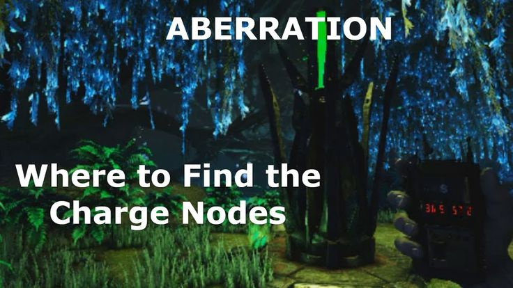 Ark Aberration Charge Nodes Locations GPS and On Map
