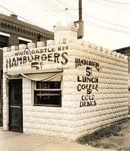 Wichita, KS - 1921: Edgar Ingram  borrowed $700.00 to open the first White Castle