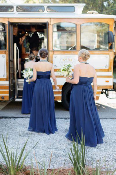 trolley transportation | Elisabeth Millay #wedding