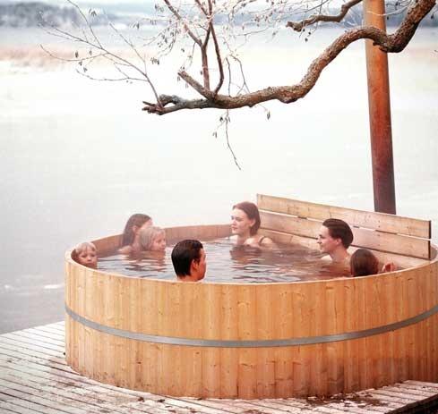 Palju-swimming after sauna