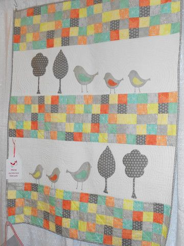 My Little Bird Baby Quilt – The Quilter's Bazaar