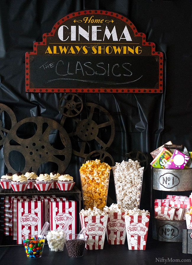 Birthday Party Planning Ideas For Kids Movie Themed Party Movie Night Party Movie Night Theme