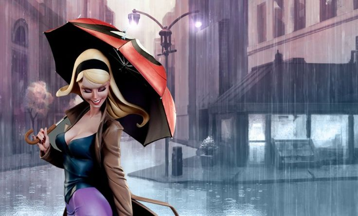 Marvel Gwen Stacy Polystone Statue by Sideshow Collectibles | Sideshow Collectibles