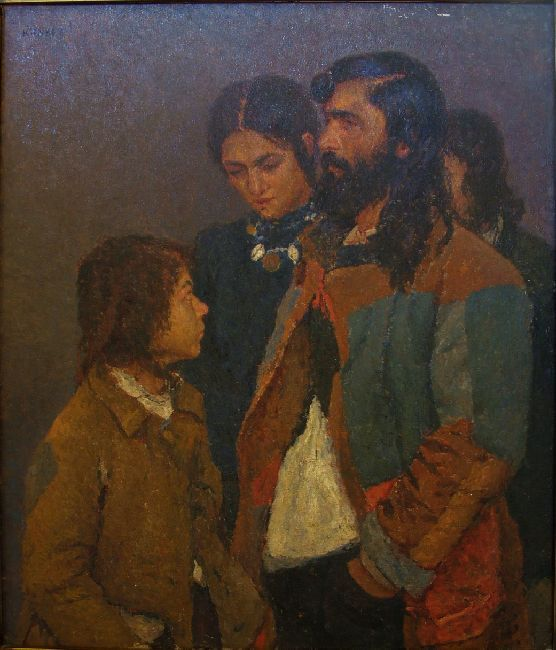King of the Gypsies family | Kunffy Lajos | Rippl - Rónai Megyei Hatókörű Városi Múzeum - Kaposvár | CC BY