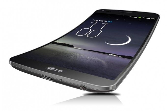 G Flex by LG with Android