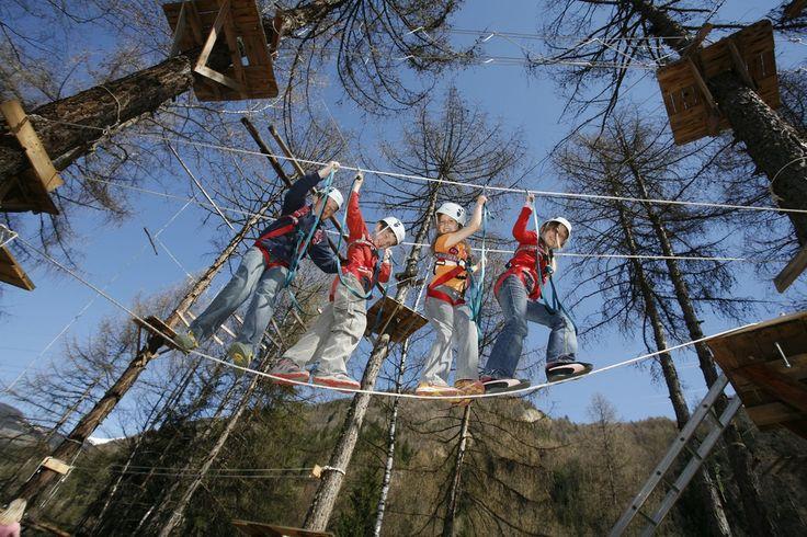 Tiefseilgarten Kinderprogramm #tiroleroberland