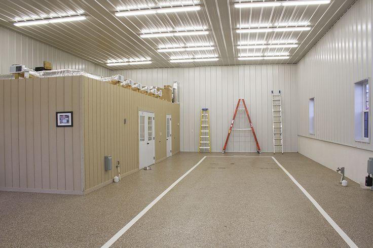 17 best cool garages images on pinterest cool garages for Morton building with basement