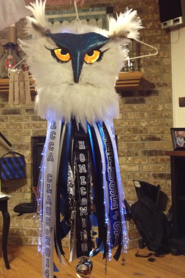 Homecoming Mum. GO OWLS!!!
