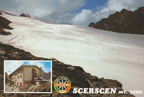 Ghiacciaio del Scerscen + Rifugio.