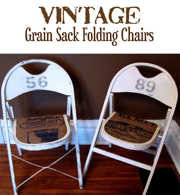 Rendition Road: Farmhouse Wooden Folding Chairs