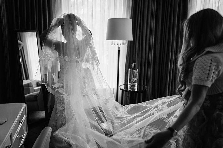 corinthia-hotel-london-wedding-129 #véunoiva #veil #lace #renda #weddingdress #vestidonoiva