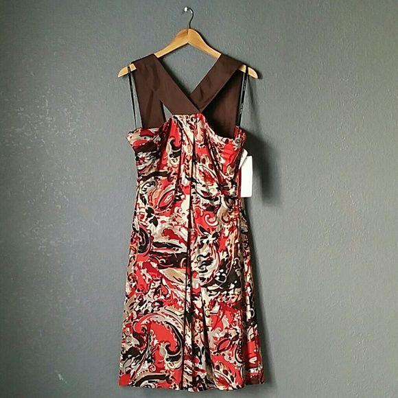 《BADGLEY MISCHKA》 Beautiful halter. Badgley Mischka Dresses