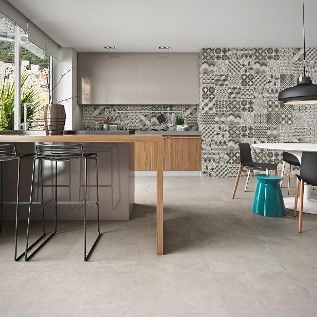 25 melhores ideias sobre piso porcelanato para cozinha no for Modelos de ceramica para pisos de sala